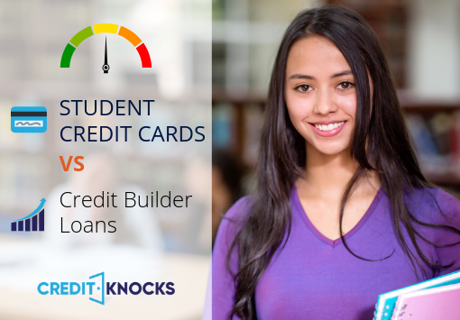 Student credit cards vs credit builder loans