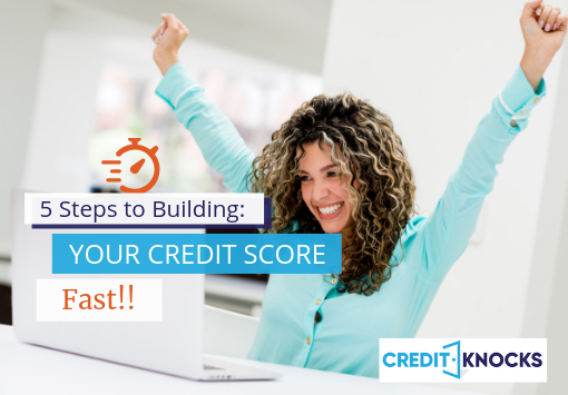 hot to build credit fast with no credit, building credit fast, quickest way to build credit, hot to get good credit fast