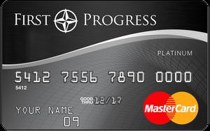 first progress select card