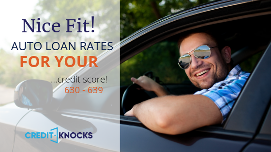 Best Monthly Car Loan Payment with a 630-639 Credit Score