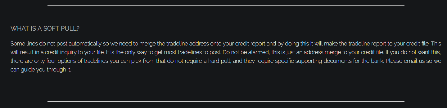 tradeline supply company review credit_resolution_address_merge