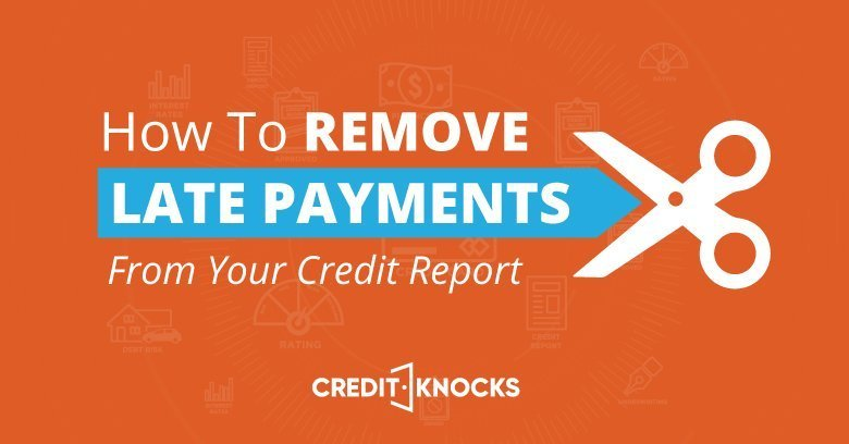 how to remove late payments
