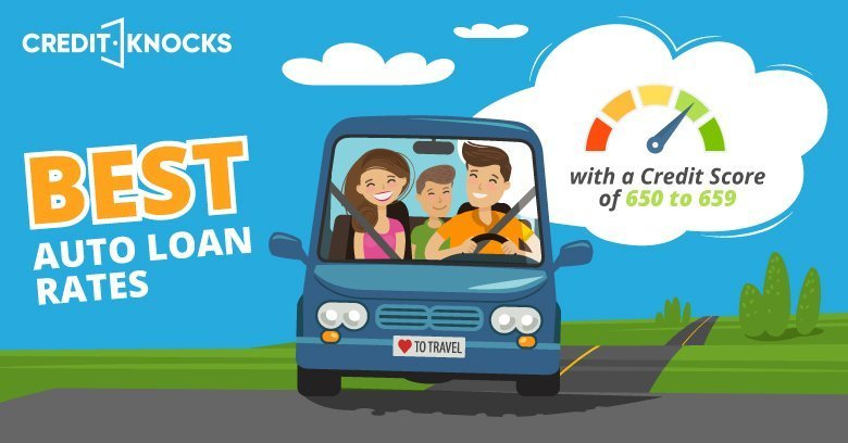 Auto Loans best rates for Credit Score 600 601 602 603 604 605 606 607 608 609