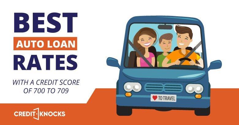 Auto Loans Credit Score 700 701 702 703 704 705 706 707 708 709