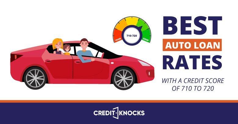 Best Interest Rates Auto Loans Credit Score 710 711 712 713 714 715 716 717 718 719 720