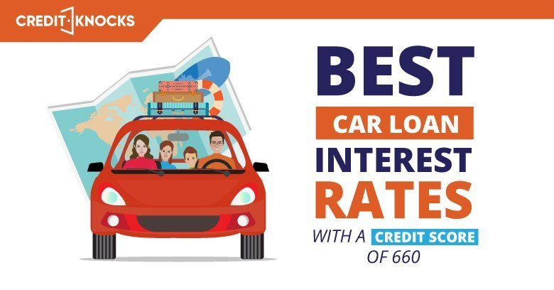 Best Car Loan Interest Rates With A Credit Score Of 660 (2019)