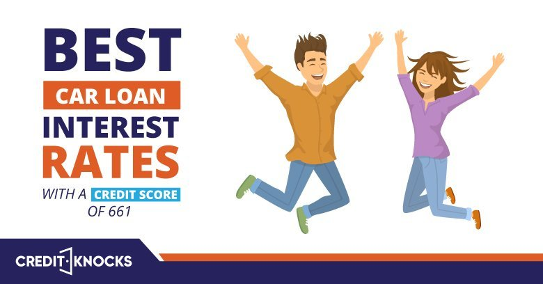 Best vehicle Loan Interest Rates With A Credit Score of 661