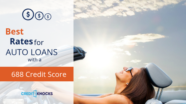 120 Month Auto Loan >> Best Car Loan Interest Rates With A Credit Score Of 688 2019