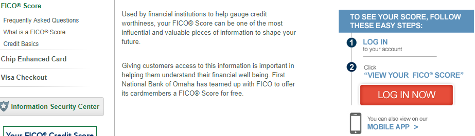 credit score access