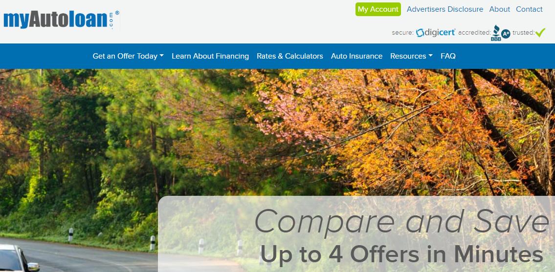 myautoloan review myautoloan com reviews my auto loan bad credit rates