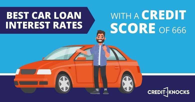 Best Car Loan Interest Rates With A Credit Score of 666